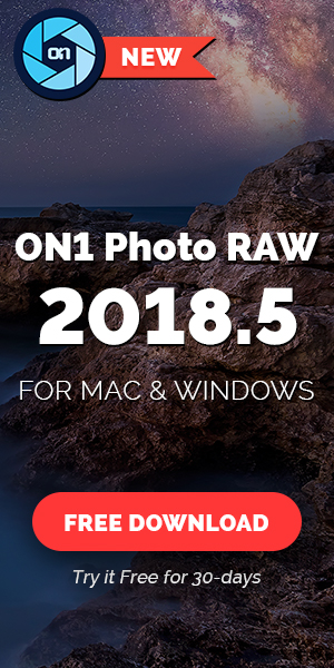 Try On1 Photo RAW 2018.5 free for 30 Days