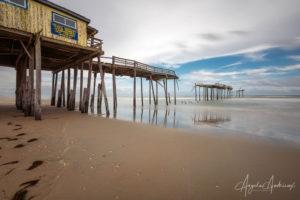 Abandoned Pier in Frisco, North Carolina
