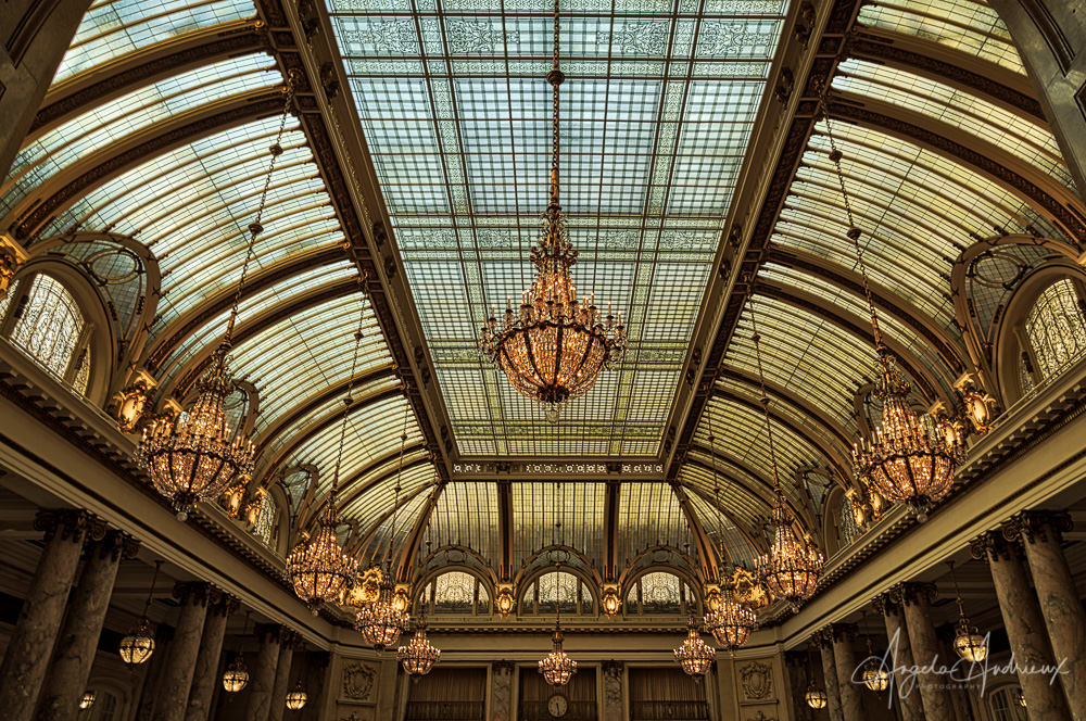 The Palace Hotel Atrium | San Francisco | California