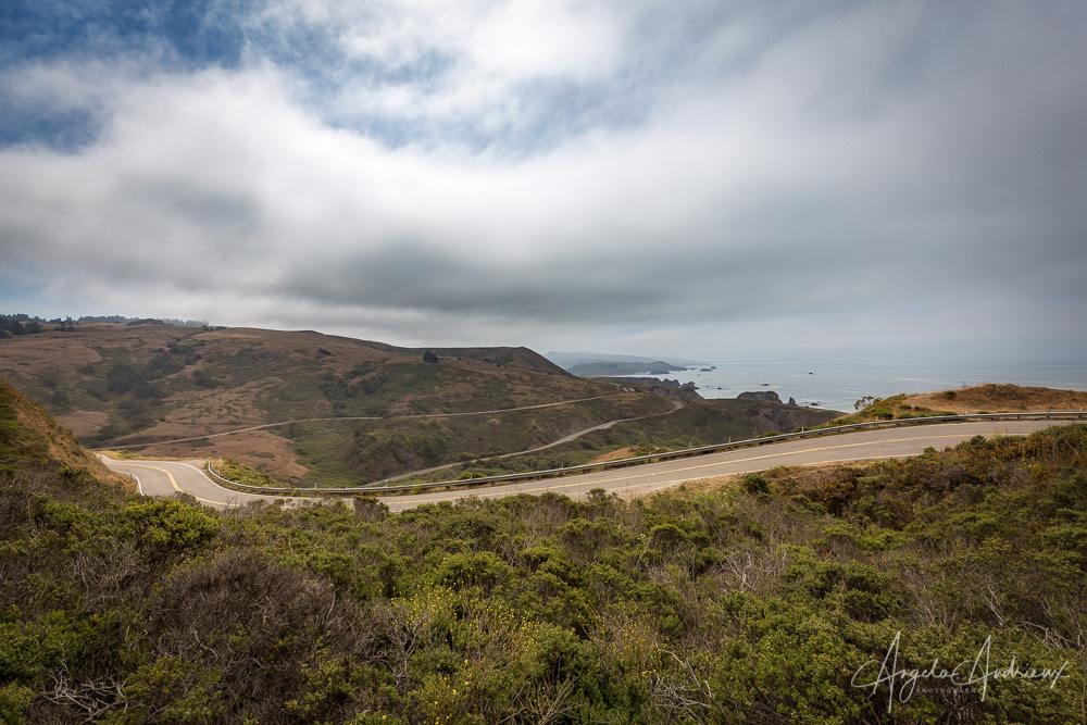 Highway 1 Curves in Northern California