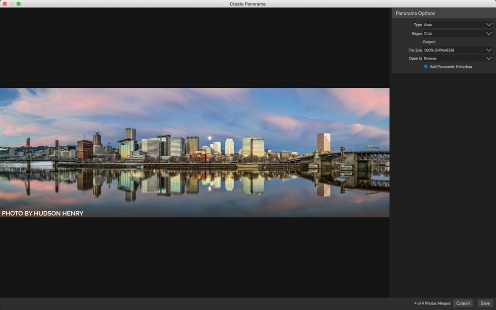 On1 Photo RAW 2019 Pano