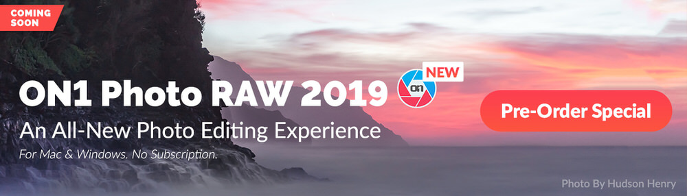 On1 Photo RAW 2019 Preorder