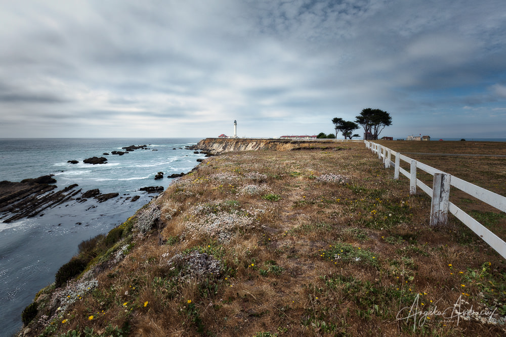 Point Arena Lighthouse on the Northern California Coast