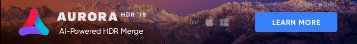 Aurora HDR 2019 Banner
