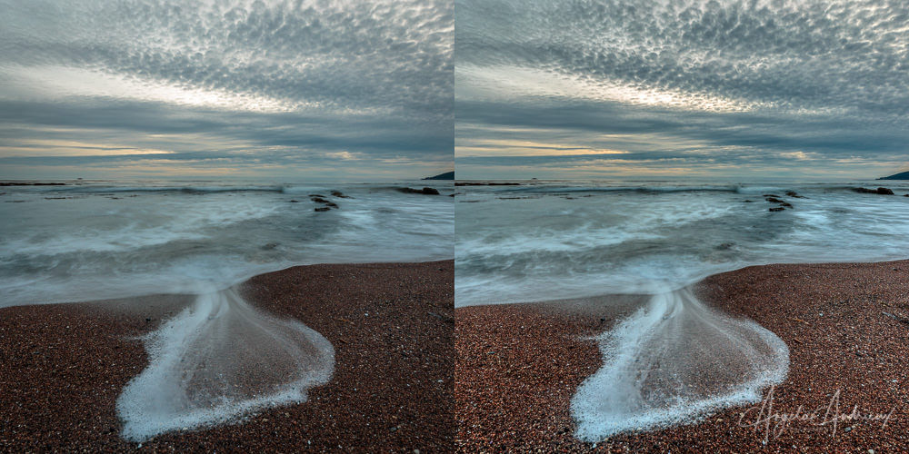 Before and After Tone Mapping - Single Exposure (no other adjustments) in Aurora HDR 2019