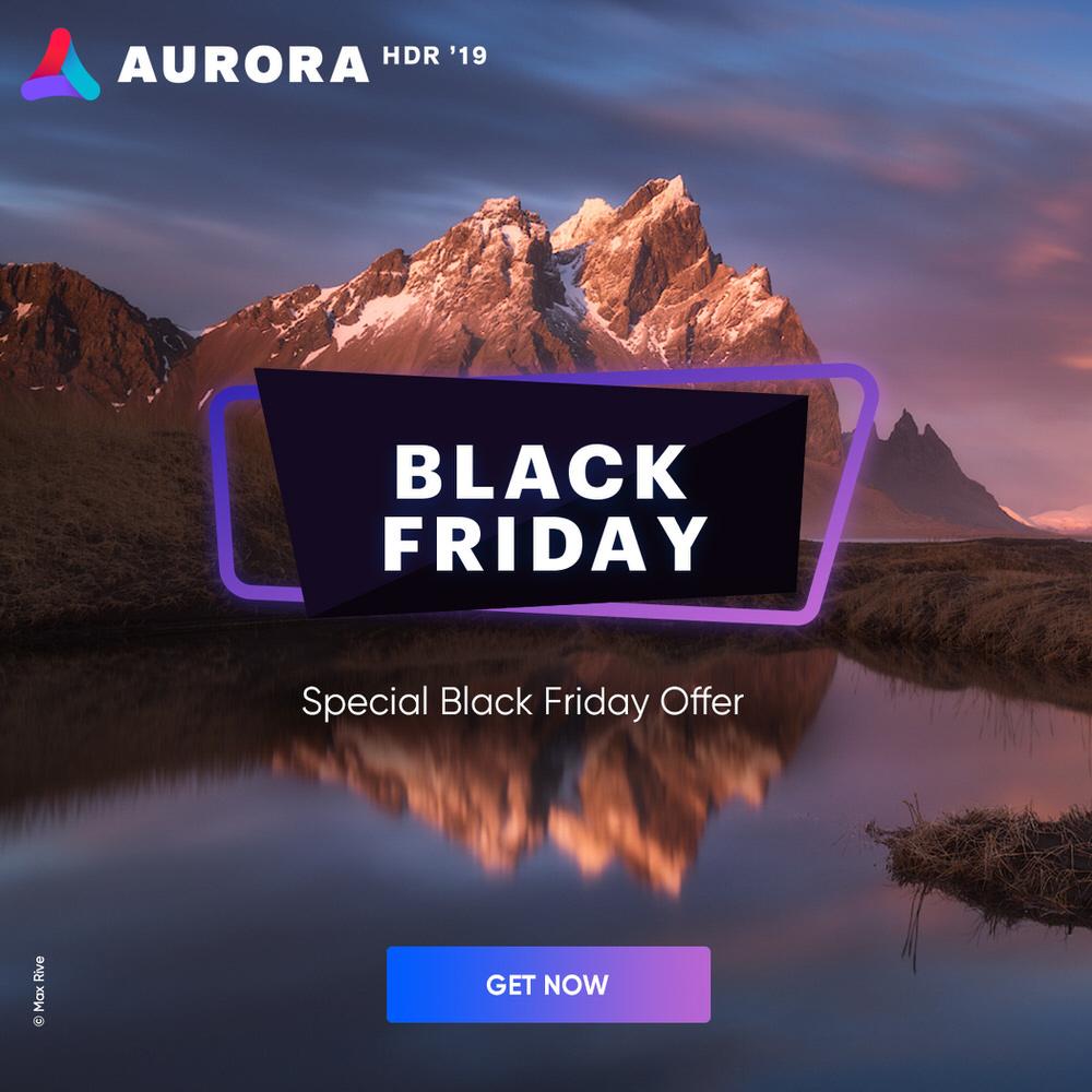 Aurora HDR 2019 Black Friday 2018