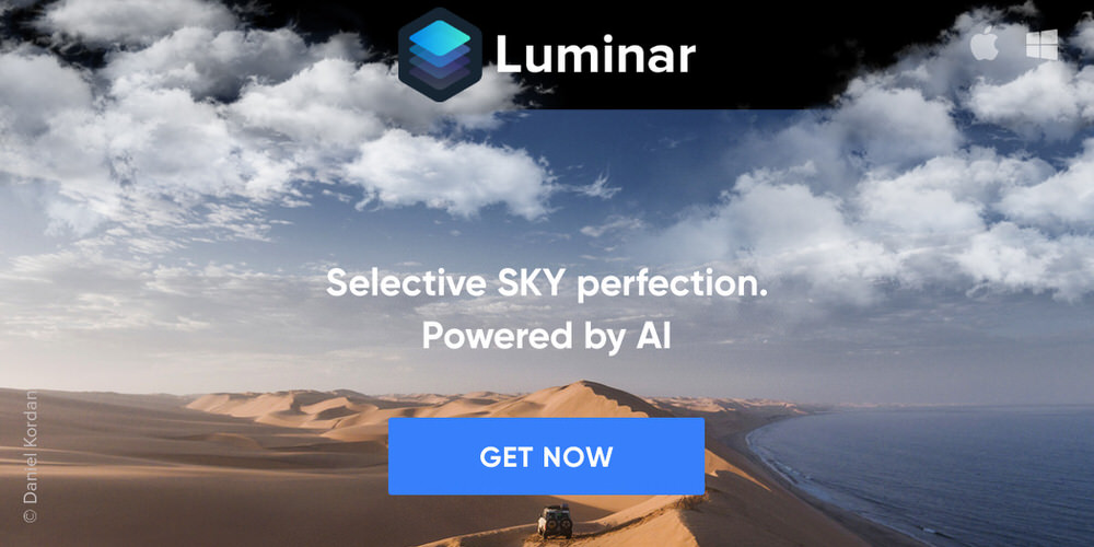 Luminar 2018's AI Sky Enhancer Filter - Selective sky perfection powered by artificial intelligence