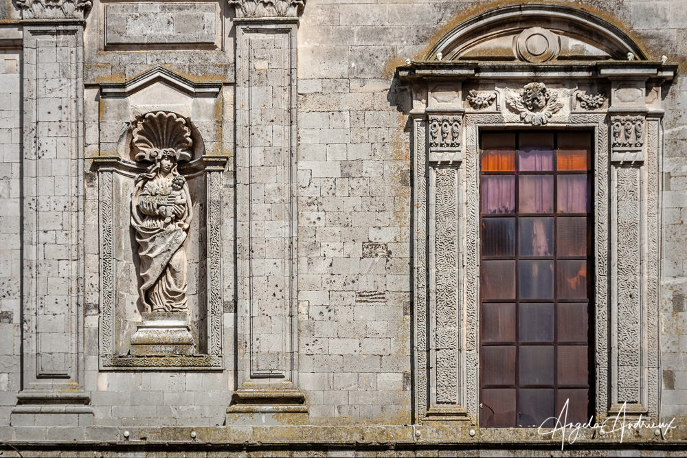 Architecture Detail in Caltagirone, Sicily | After Topaz Sharpen AI
