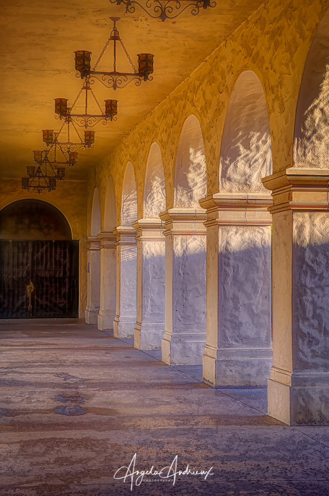 Corridor at Balboa Park | San Diego | California