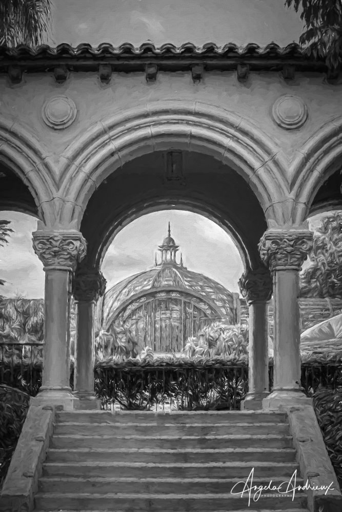 Balboa Park Botanical Building After Topaz Studio 2