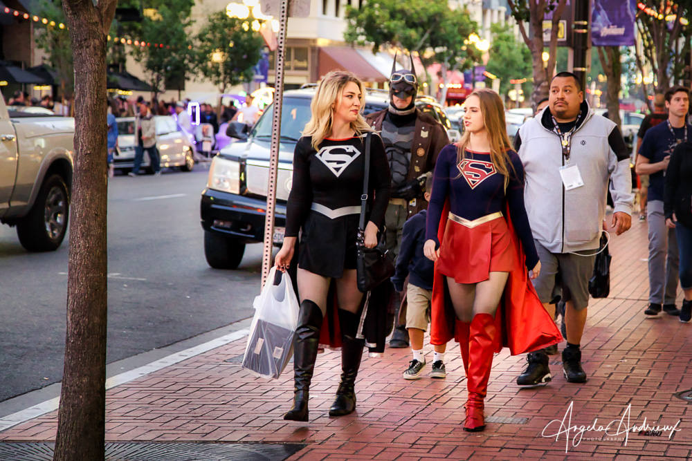 Super Women at San Diego Comic-Con 2019