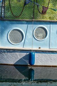 Boat Face in Santa Barbara edited using Luminar 4 and AI Structure