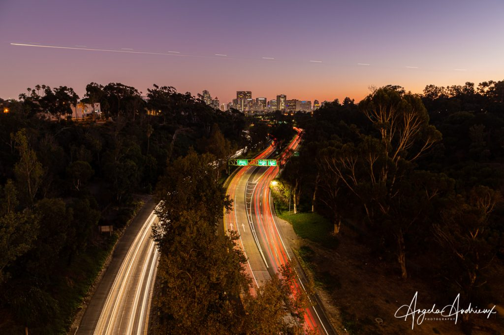 Sunset over San Diego from the Cabrillo Bridge during the 2019 Worldwide Photo Walk