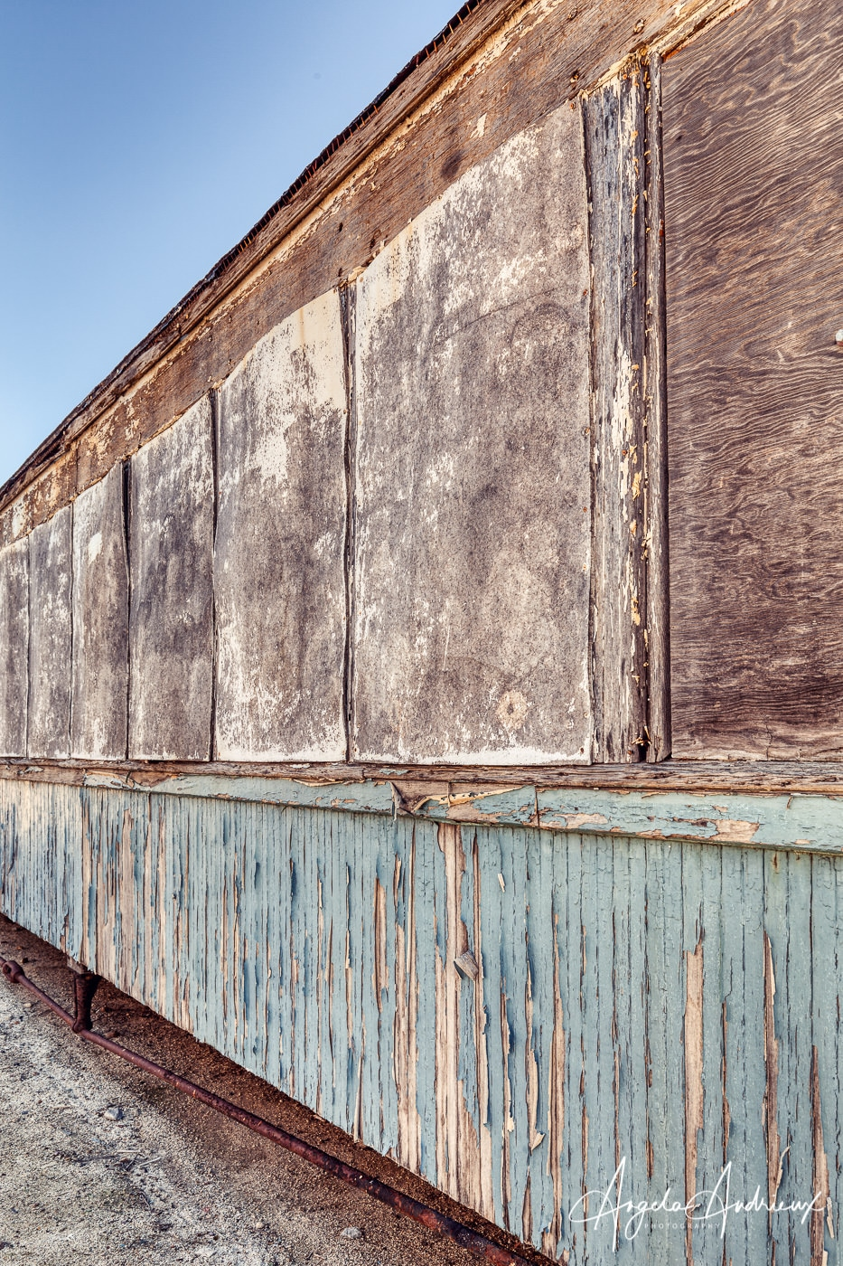 Wood Rail Car at the Pacific Southwest Railway Museum in Campo, California