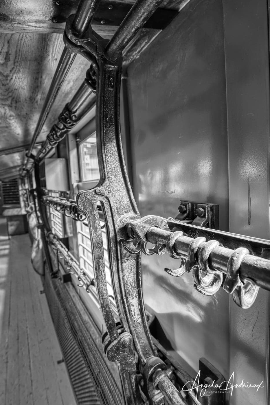 Postal Carriage Details at the Pacific Southwest Railway Museum in Campo, California