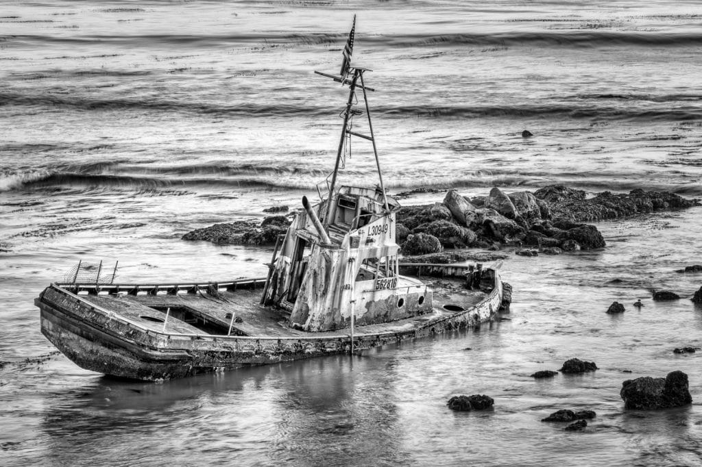 Point Estero Shipwreck