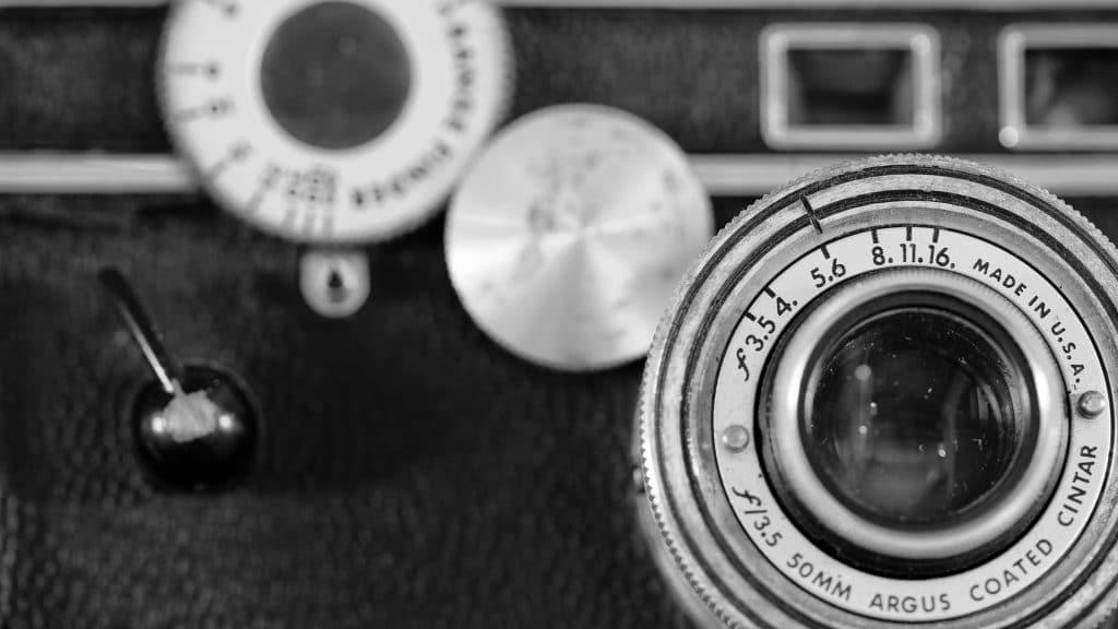 Vintage Argus Rangefinder Camera, aka - The Brick