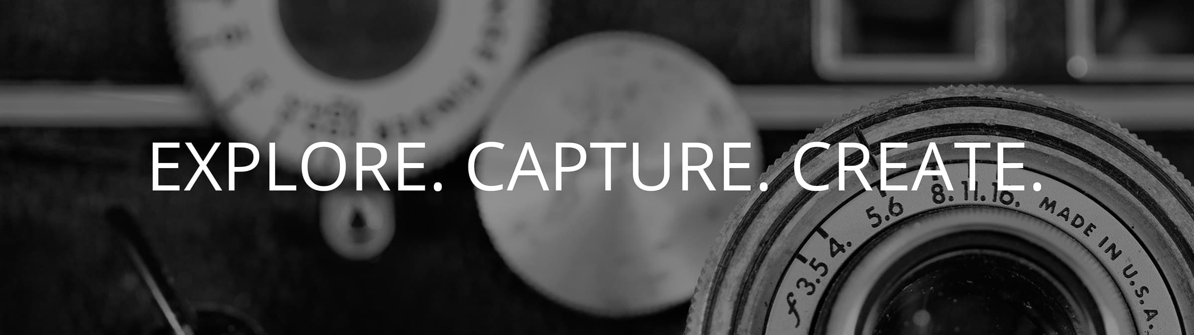 Explore. Capture. Create. Blog for Angela Andrieux Photography