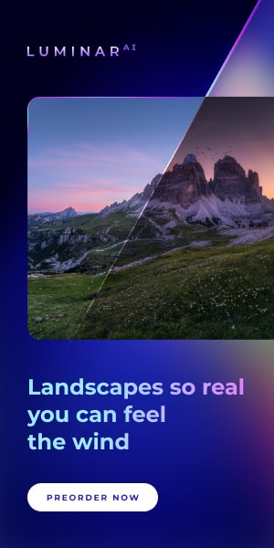 Pre Order Luminar AI | Landscapes so real you can feel the wind