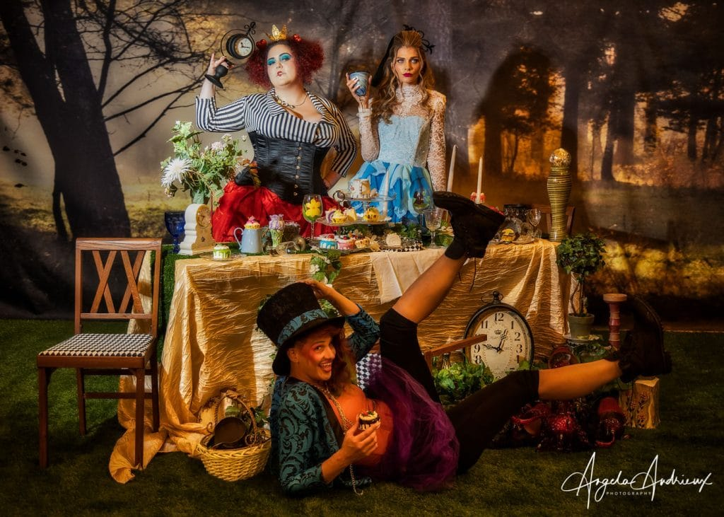 Mad Hatter Tea Party at ClickCon