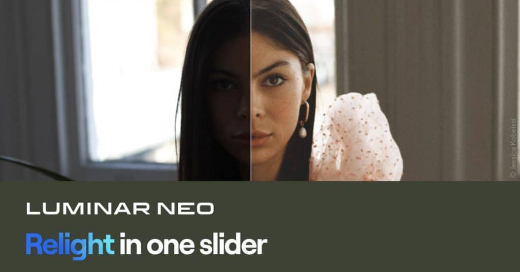 Luminar Neo   Relight in one slider