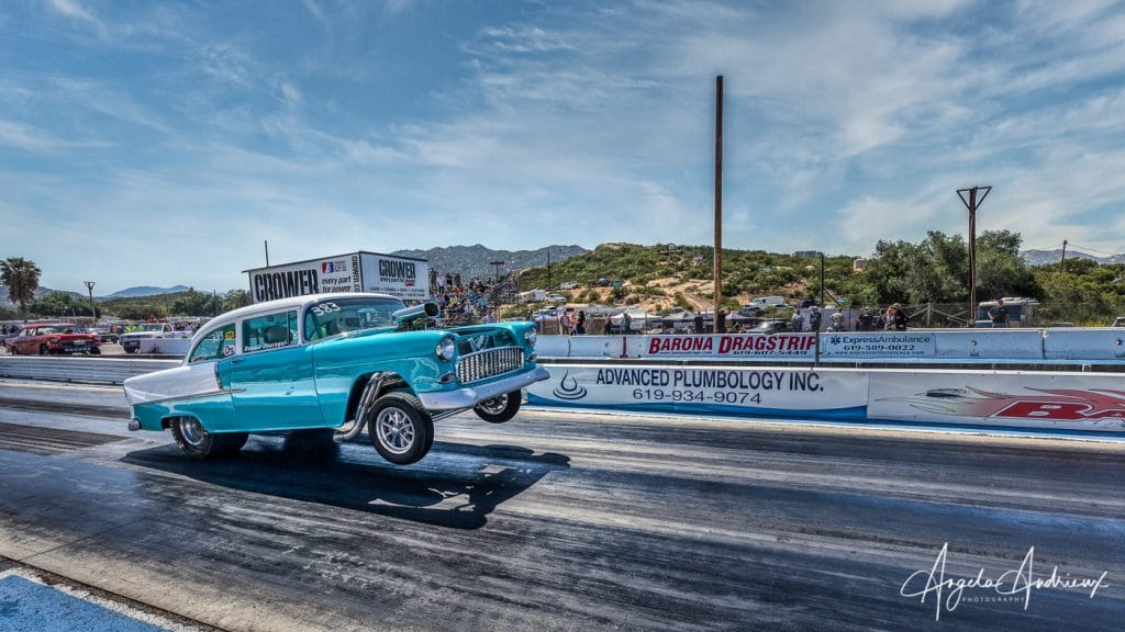 Turquoise beauty at the Barona Drags