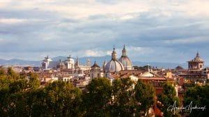 Remembering Rome After Luminar AI Toning